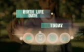 Textovka ukazující datum narození. Konceptuální foto Den, kdy se dítě narodí Těhotenství Dejte život.