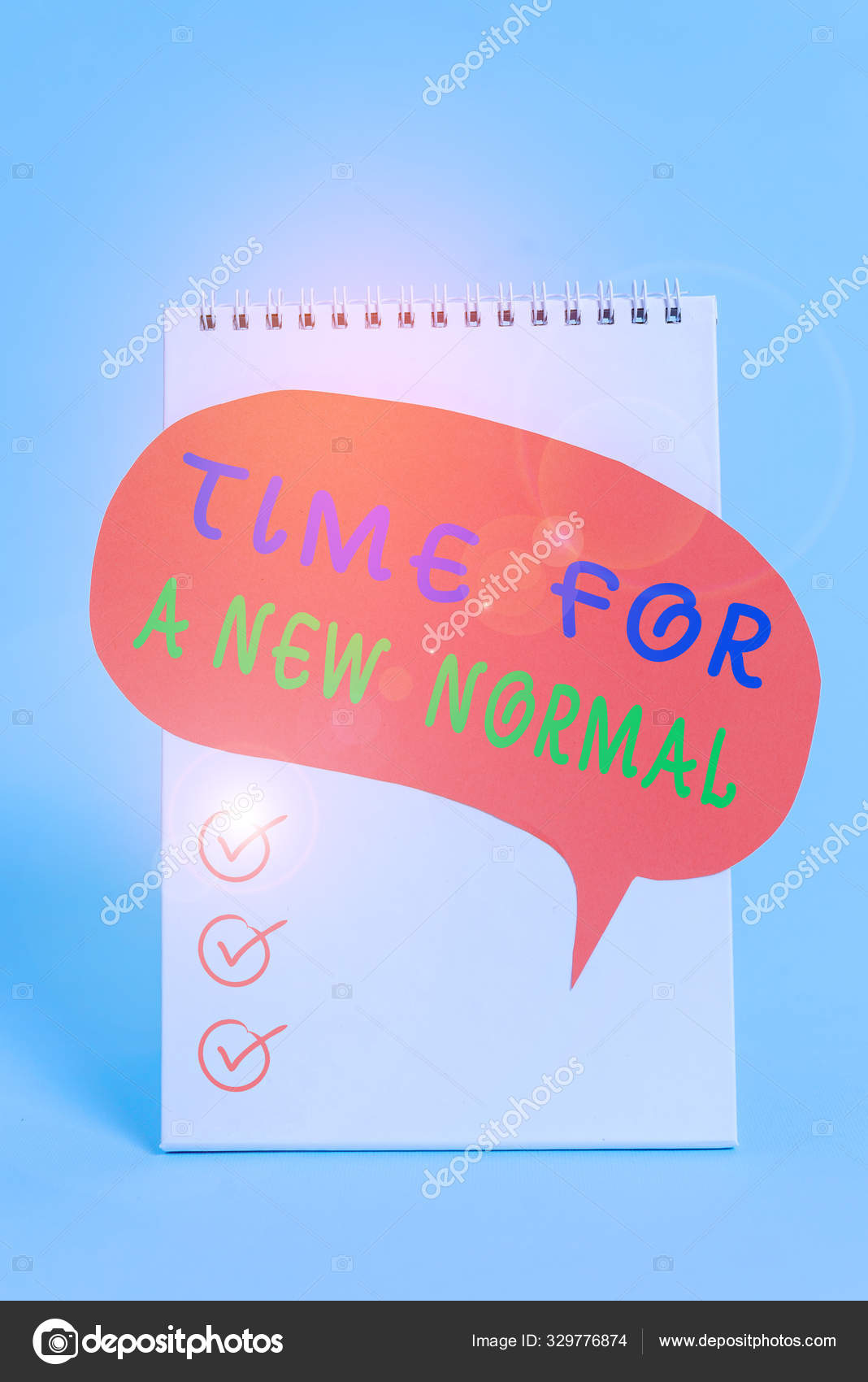 Word Writing Text Time New Normal Business Photo Showcasing Make