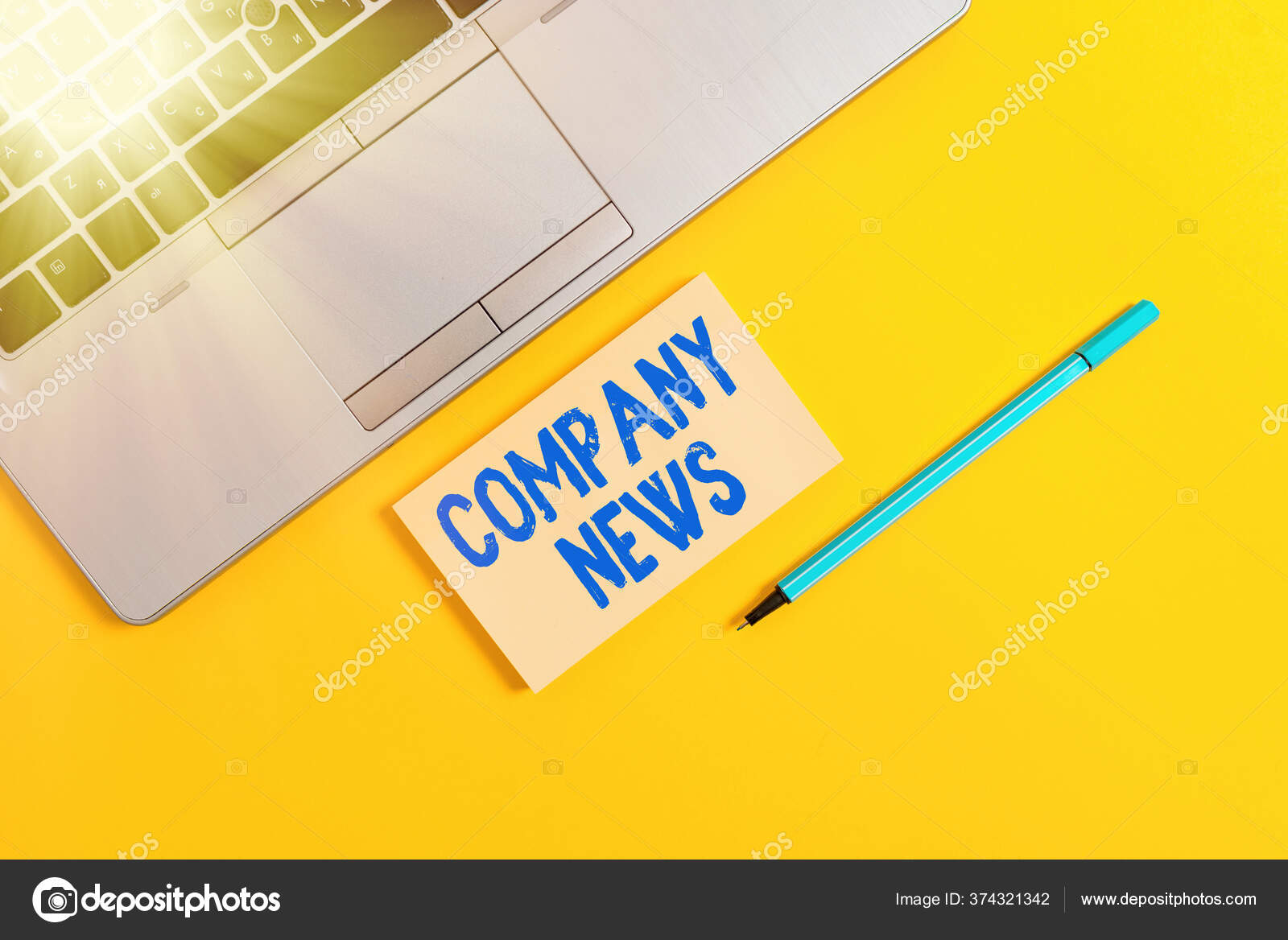 Writing company background information
