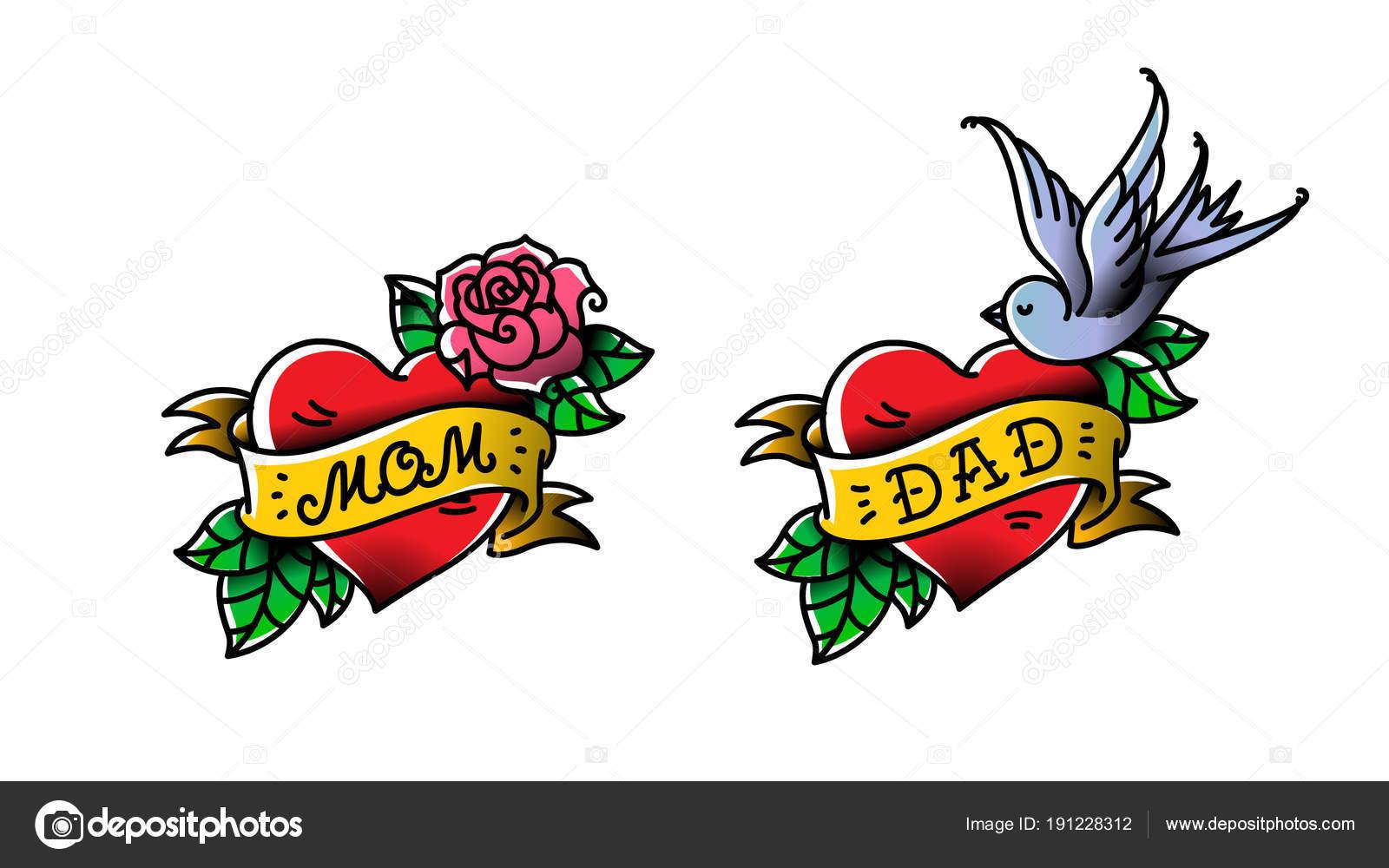Fotos Tatuajes Mama Y Papa Tatuajes Con La Inscripción De Mamá Y