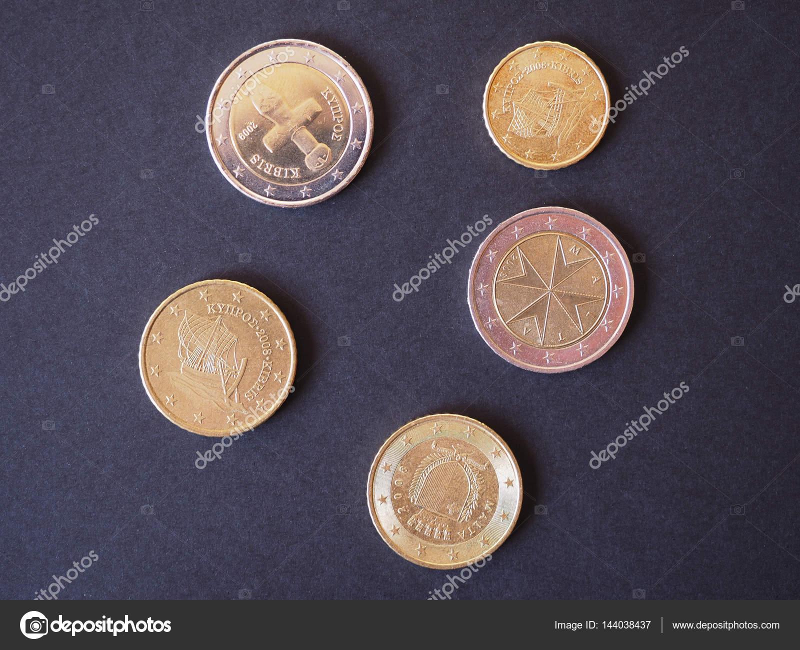 Euro Münzen Eur Aus Malta Und Zypern Gesetzliches Zahlungsmittel Der