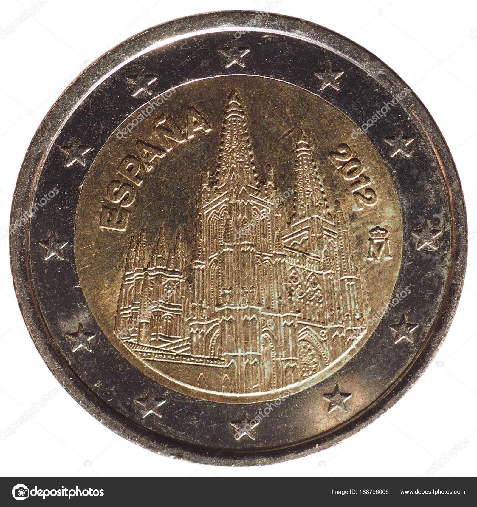 2 Euro Münze Europäische Union Stockfoto Route66 188796006