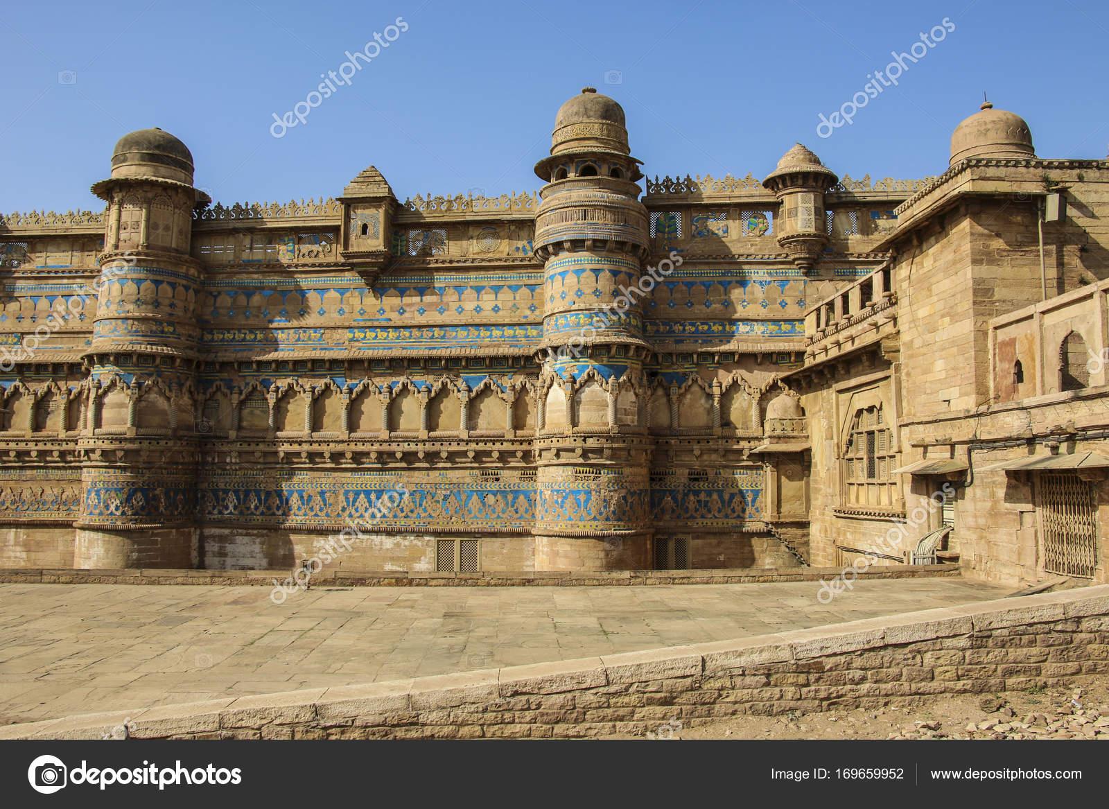 Fort De Gwalior Dans Le Madhya Pradesh Inde Photographie