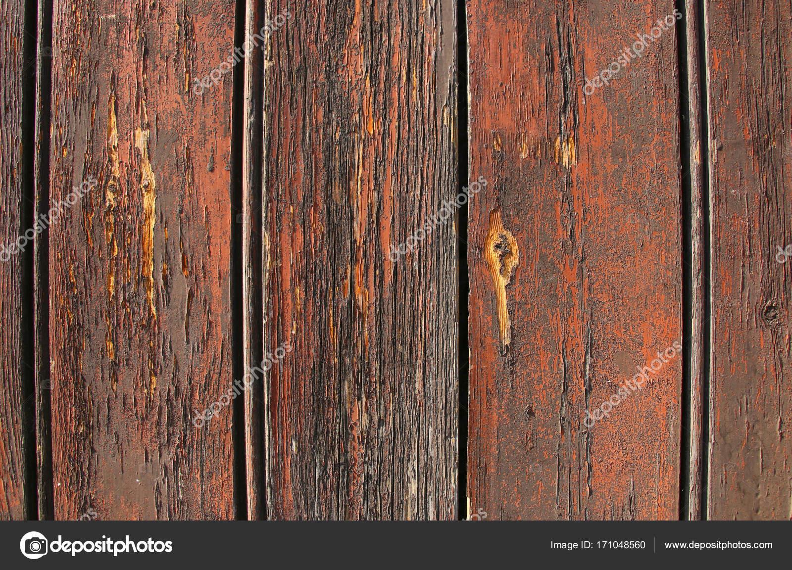 Colori Vernici Legno : Struttura di vecchio legno con vernice incrinata di colore rosso