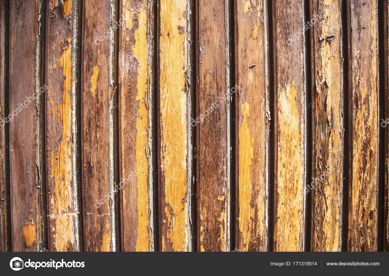 Colori Vernici Legno : Struttura di vecchio legno con vernice incrinata di colore giallo e