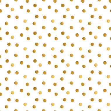 golden dots pattern