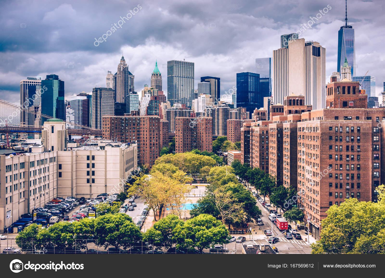 Excepcional cidade de Nova york, manhattan — Stock Photo © Chumakov16 #167569612 SK64