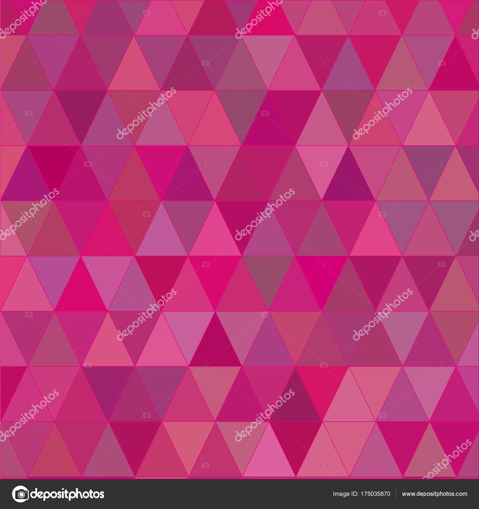 pink triangles texture background stock vector sugonyako olya