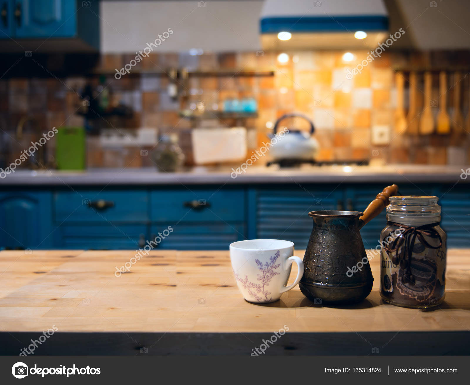 Cucina Country in stile provenzale\