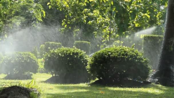 Zavlažovací v zahradě