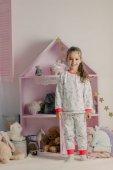 Fényképek lány pizsama, a gyerekszoba