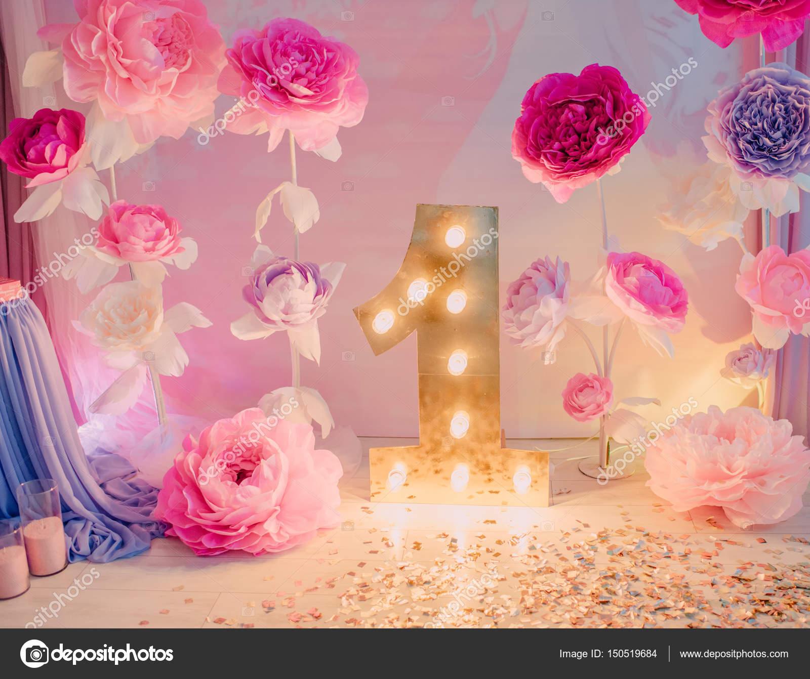 Flores De Cumpleanos Decoraciones Fotos De Stock C Alekuwka 150519684