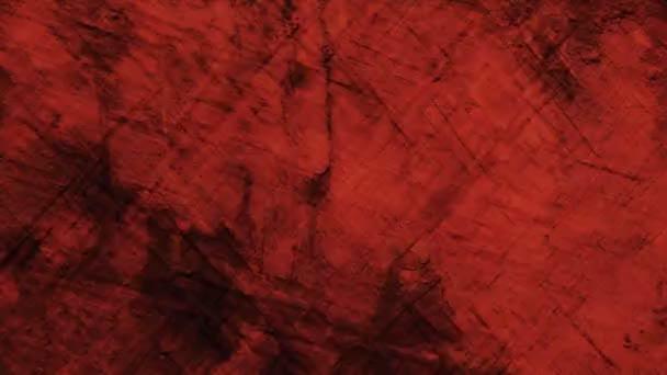 Astratto Rosso Pastello Sfondo In Movimento Video Stock