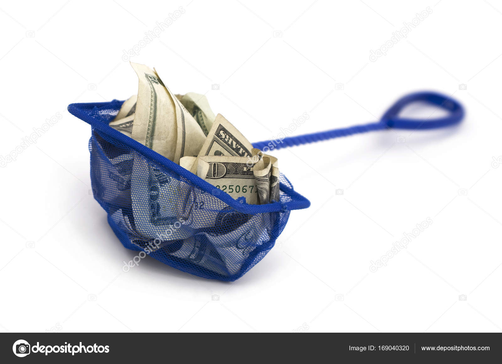 Fish net with cash financially trapped stock photo fish net with cash financially trapped stock photo jeuxipadfo Choice Image