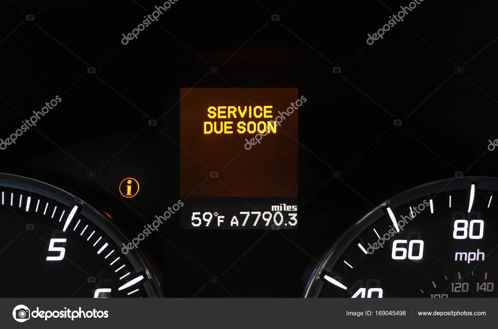 Auto Service Waarschuwingslampje Stockfoto C Imagepixel 169045498