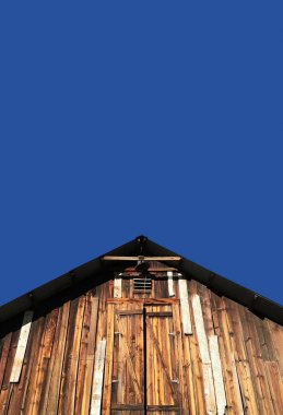 Old Wooden Barn Shed