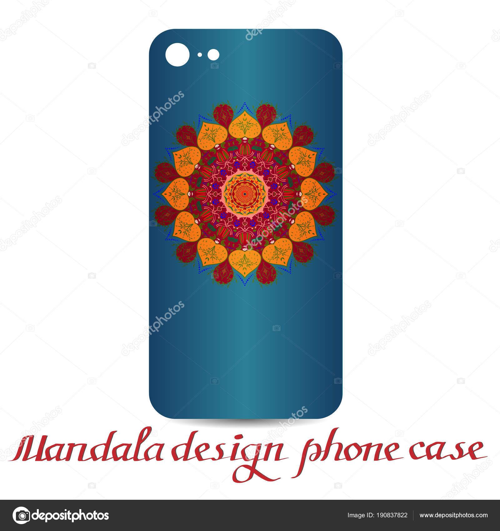 Mandala Design Visitenkarten Vintage Deko Elemente
