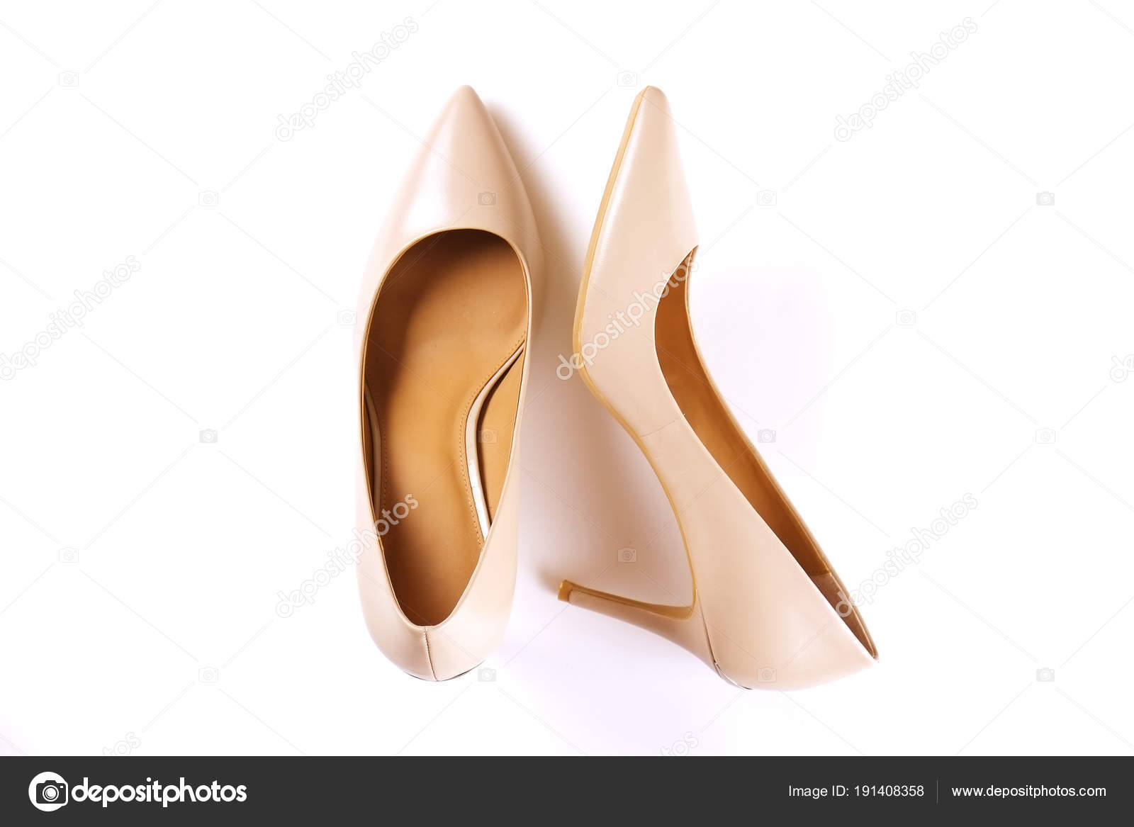 Mujer Cuero Moda Tacón Femenino De Zapatos Vista Medio 1Cqfnz