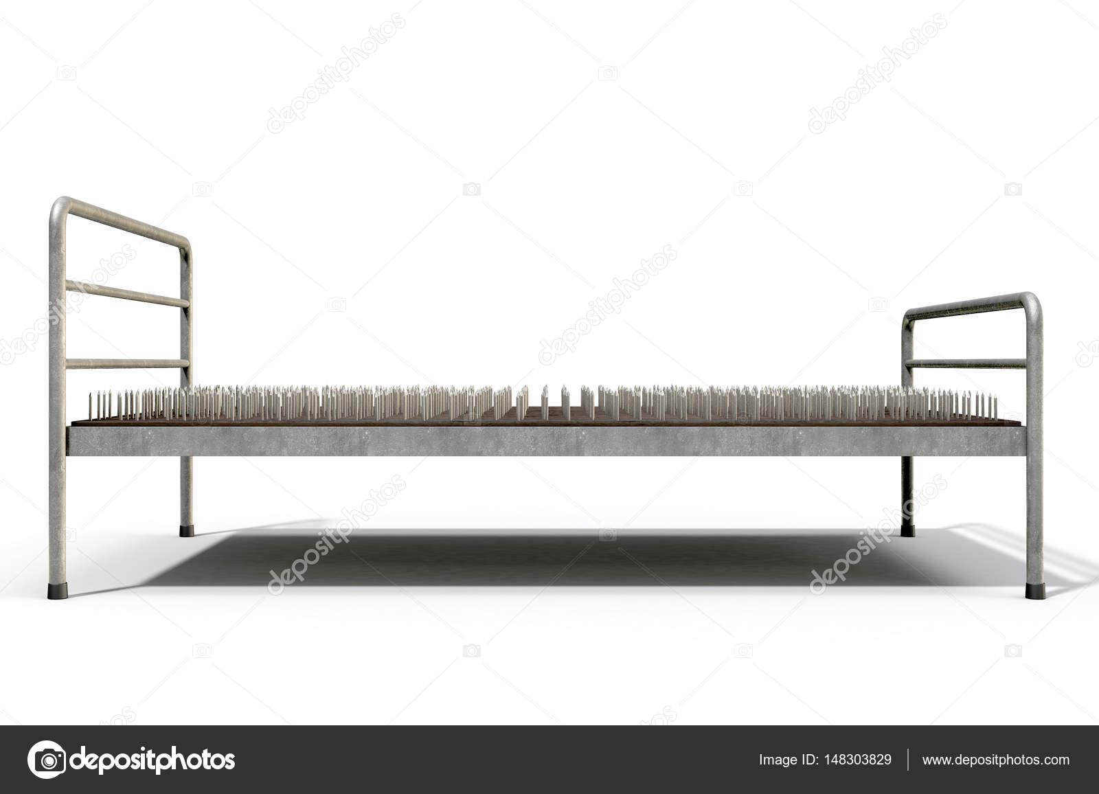 Cama de clavos aislado — Foto de stock © albund #148303829