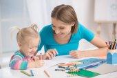 Koncept péči pro matku a dítě, rodičovství, mateřství láska