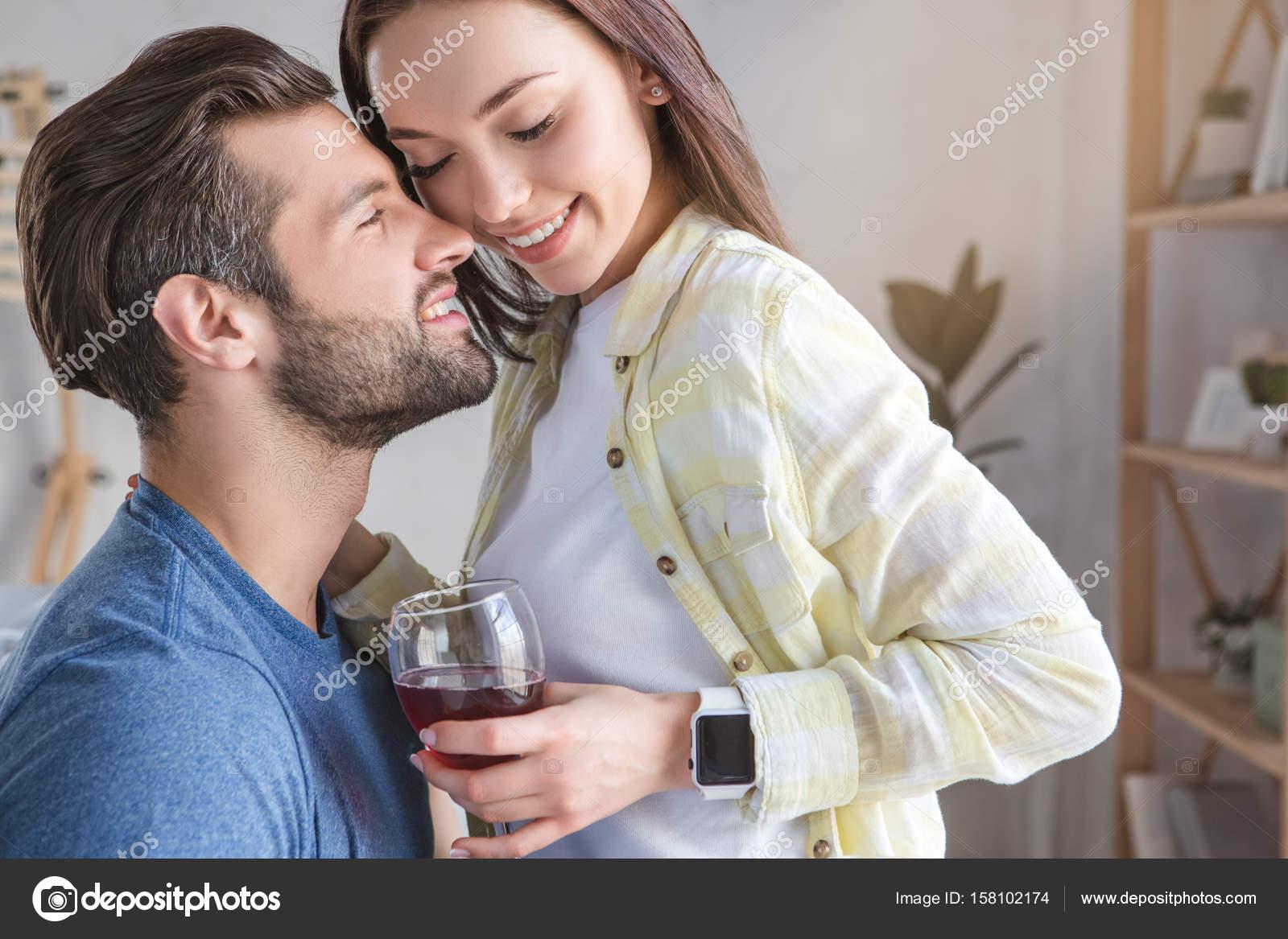 eine Beziehung lässig halten