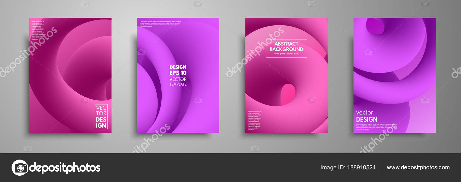 Colorful templates set with abstract elements abstract blending abstract blending liquid color shapes cover design applicable for brochures flyers banners covers notebooks business cards and posters vector by colourmoves