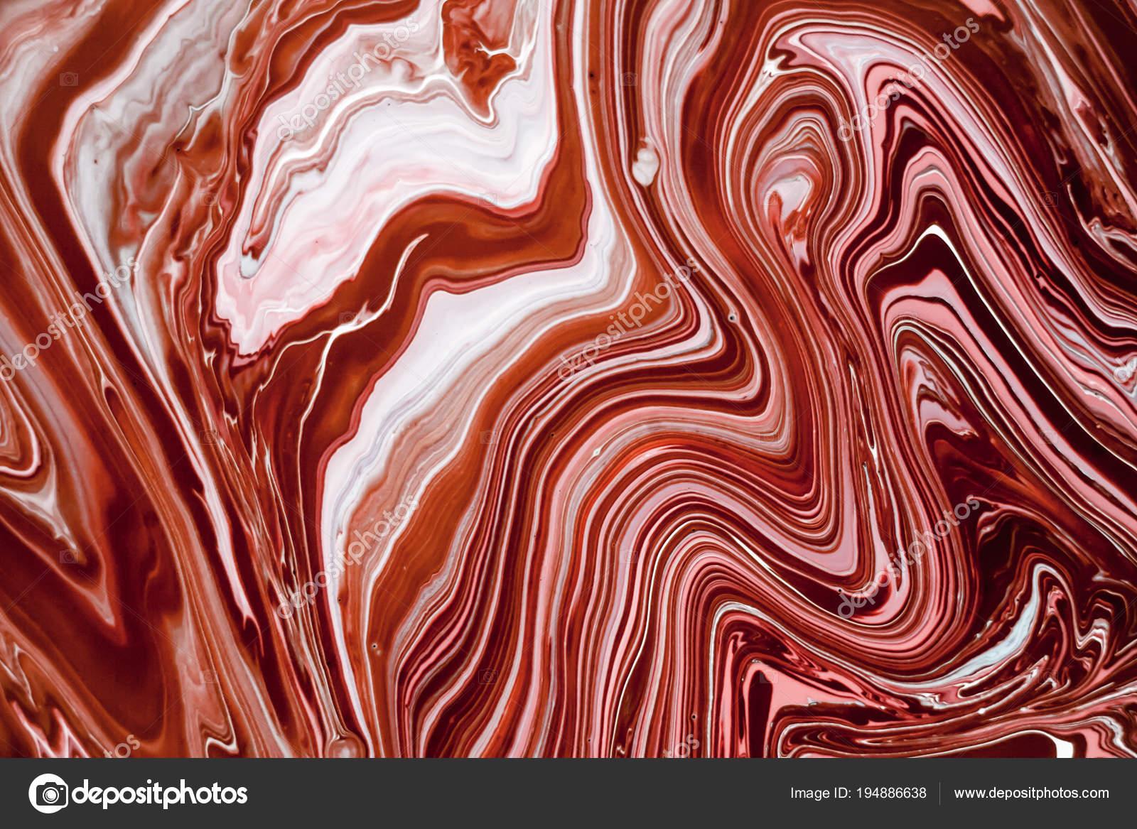 Struttura Di Marmo Liquido Con Colori Rosa Bianchi E Marroni
