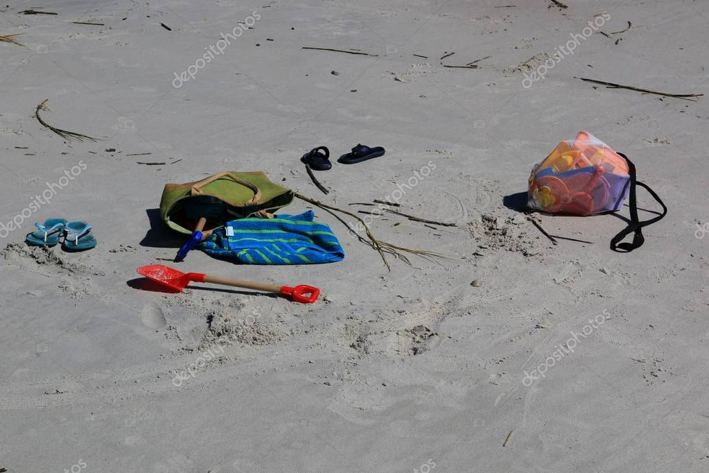 Beach gear for moms and children