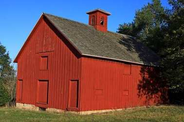 Red wood farm barn