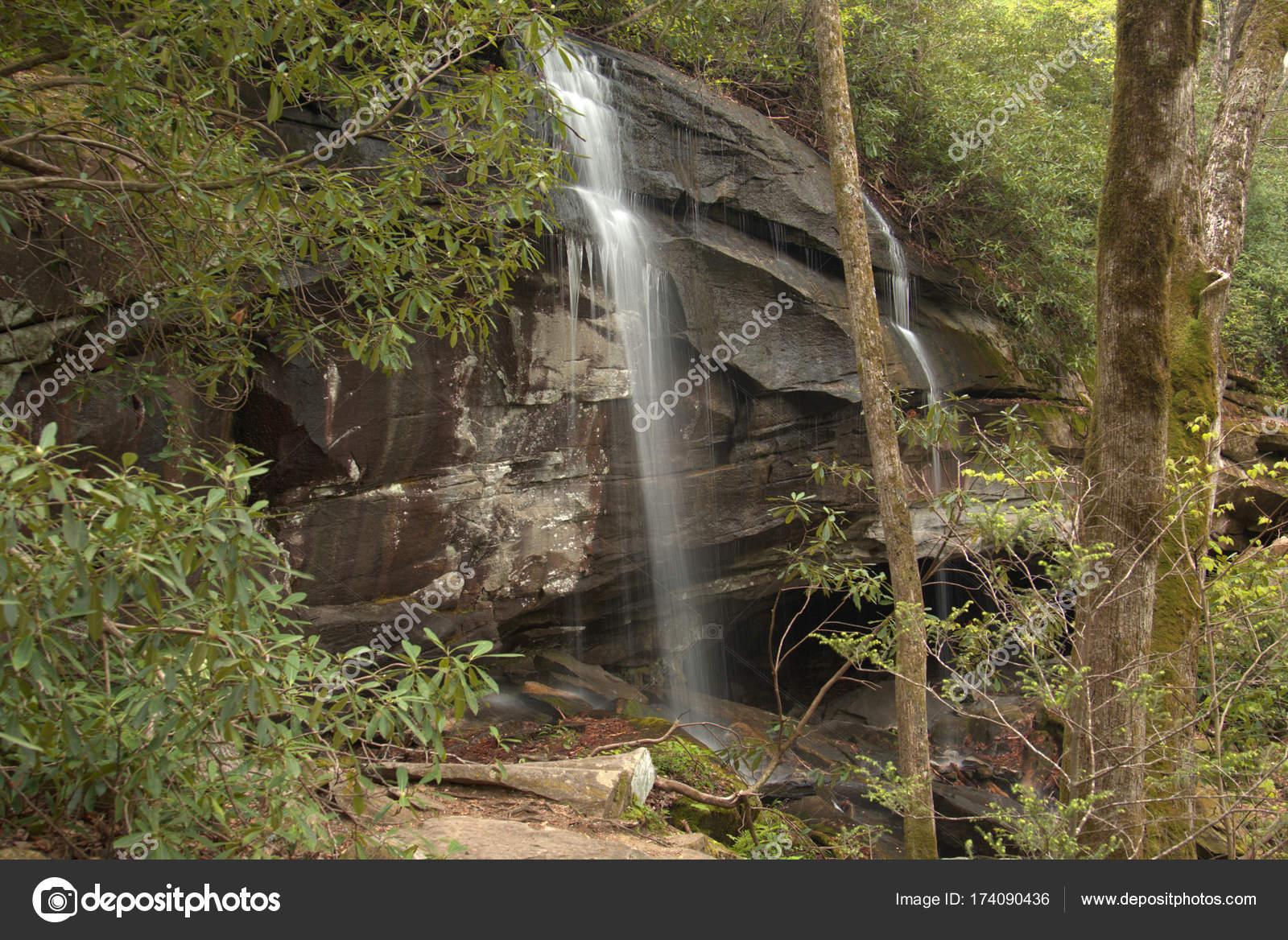 Chasing Water Falls in North Carolina along the Blue Ridge