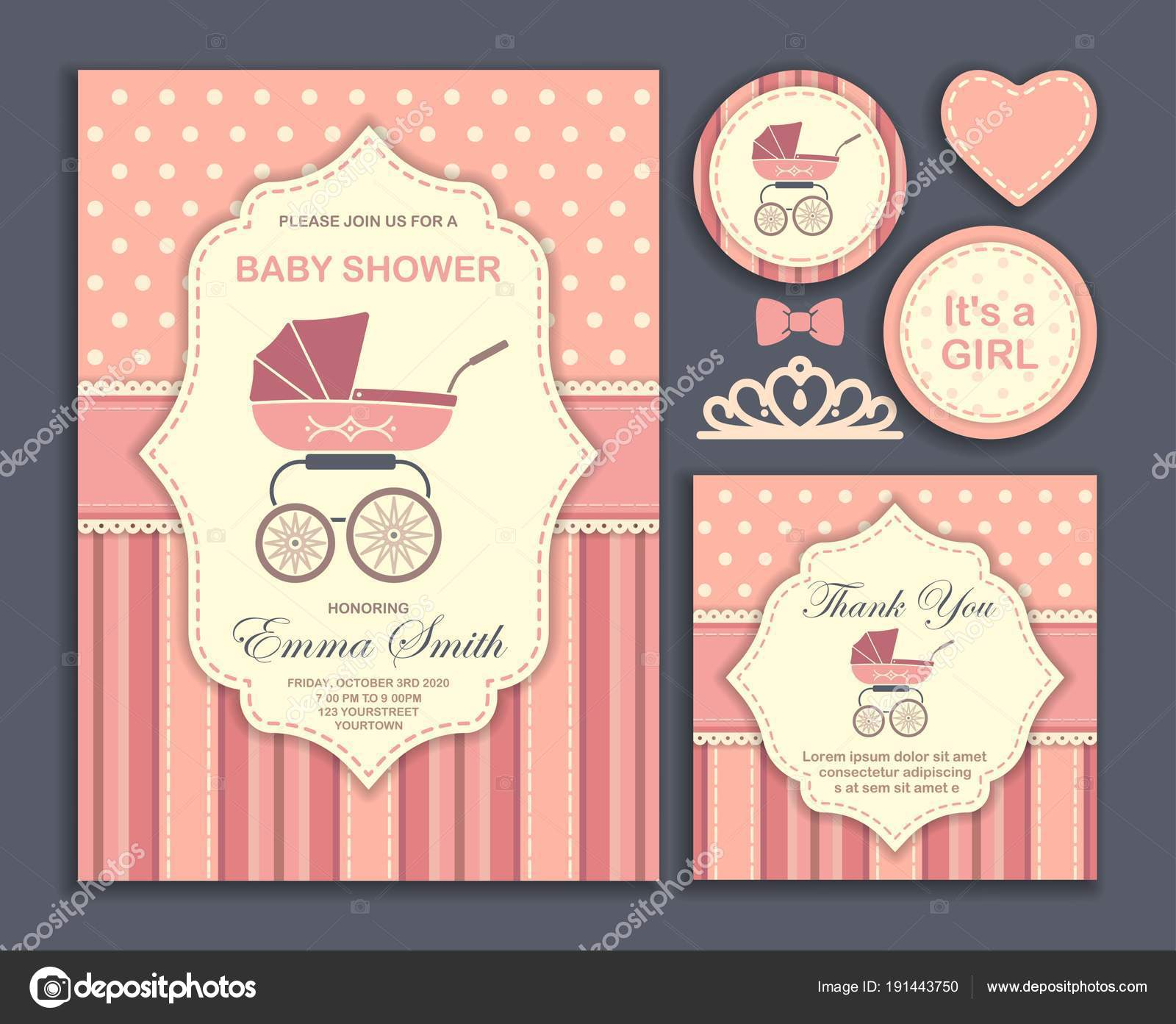 Descargar Invitaciones Para Baby Shower Personalizadas