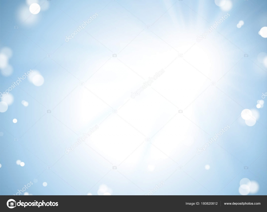 Aureolas Gigantes fondo azul bokeh — archivo imágenes vectoriales © mitstudio