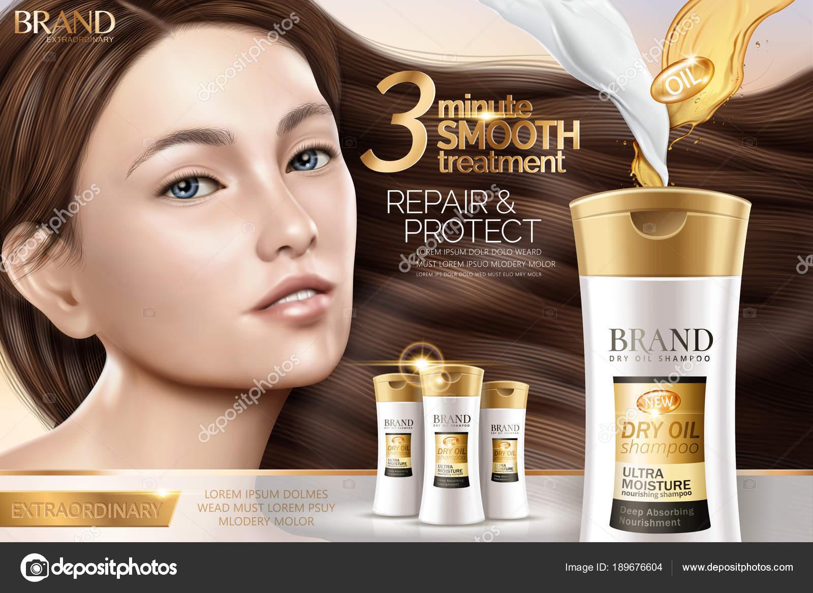 Attractive shampoo ad 15