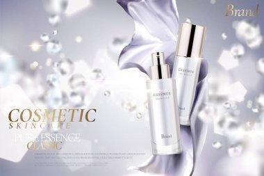 Cosmetic essence ads