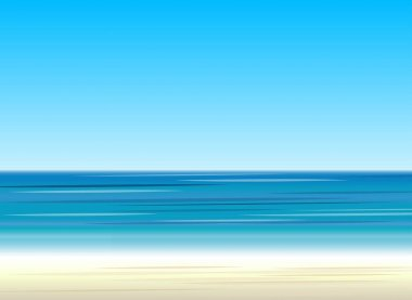 beach and sea. color background.