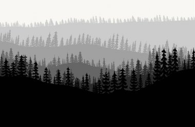 forest background vecto