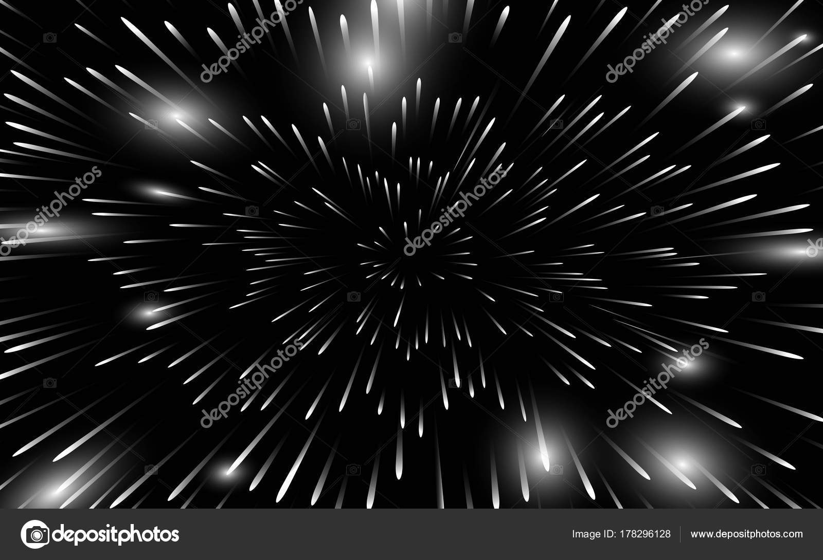 colored fireworks on black background.a background of ...