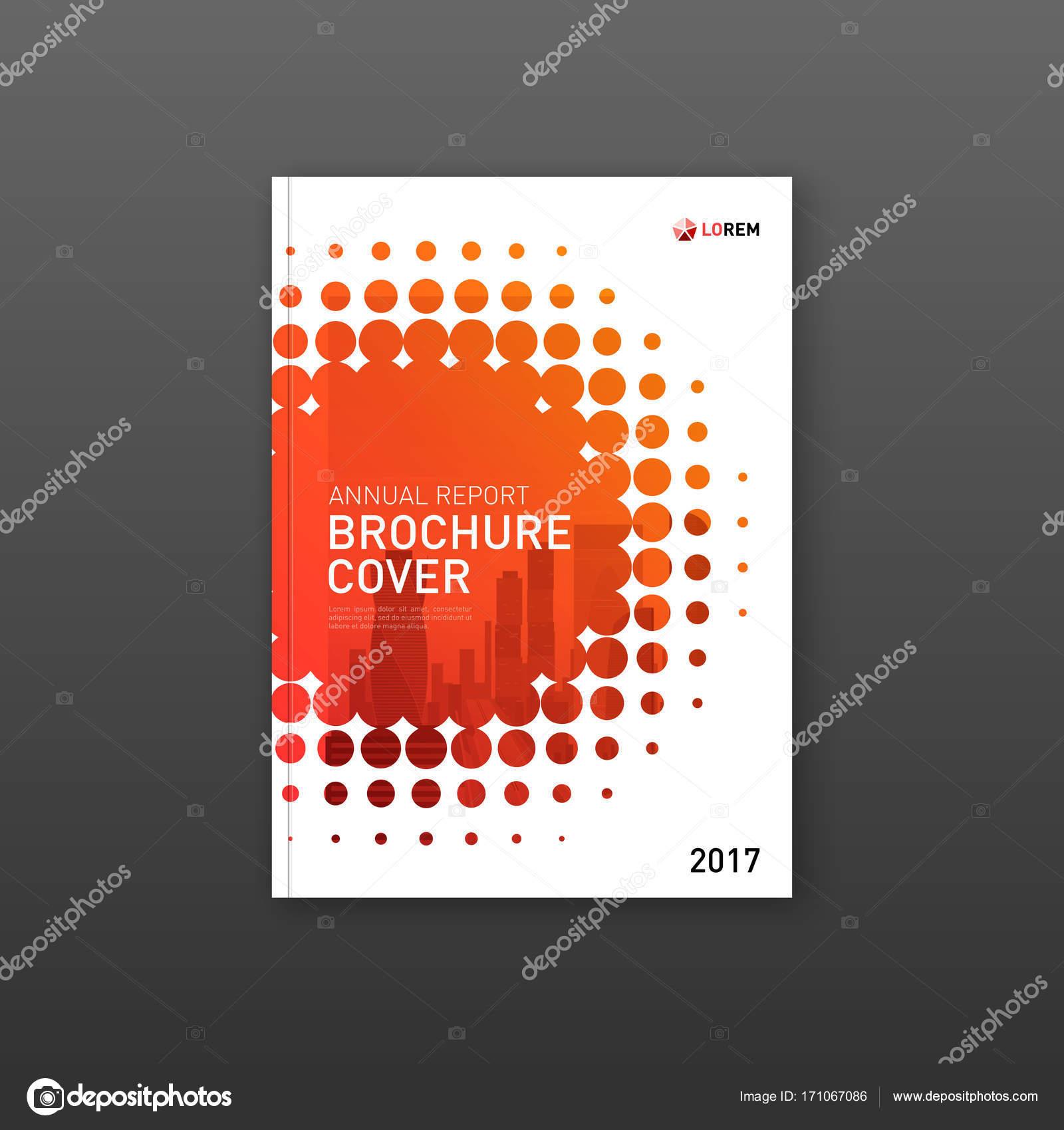 Plantilla de diseño de portada de folleto para empresa de ...