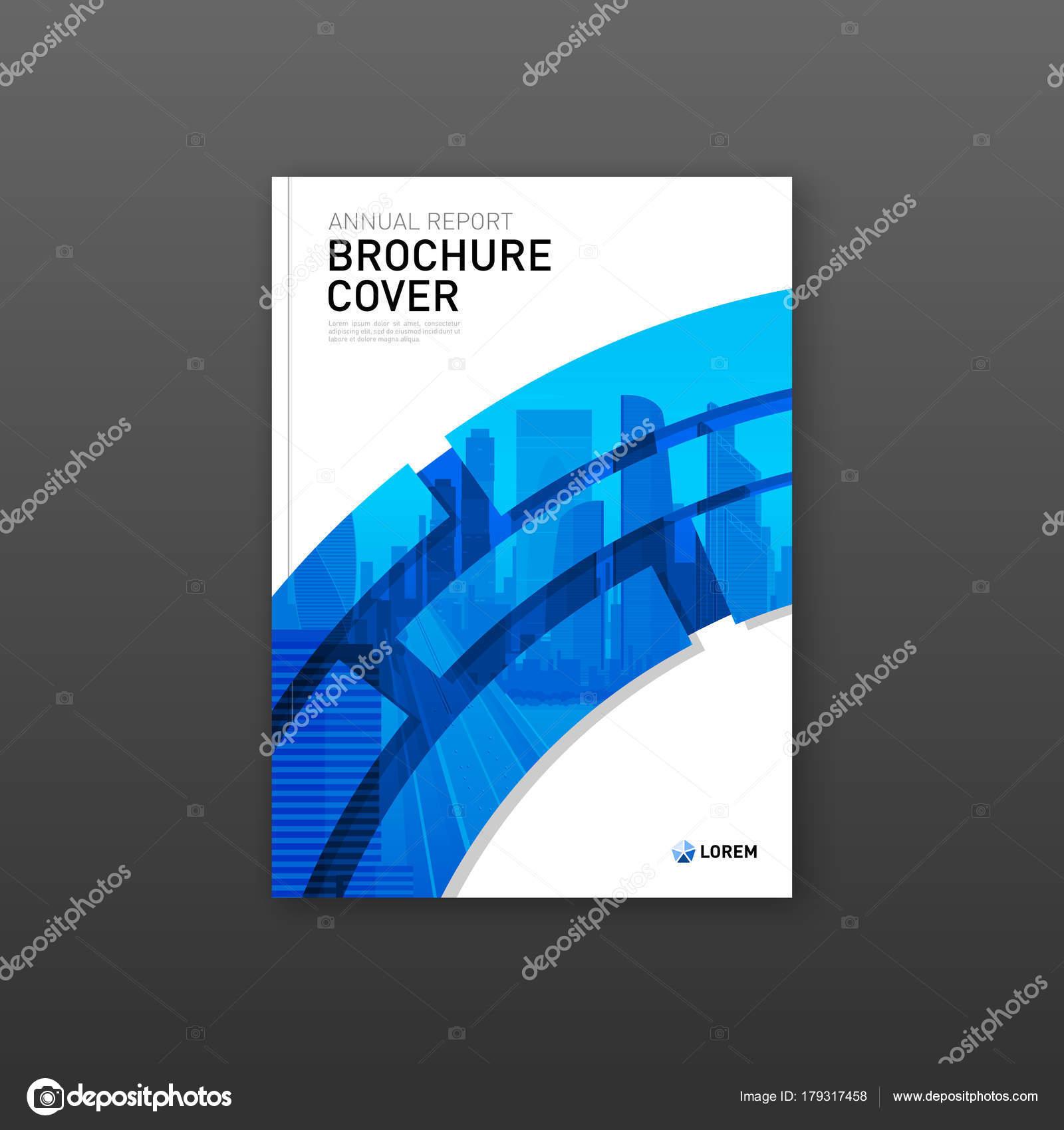 Diseño de portada folleto para negocios y construcción — Archivo ...