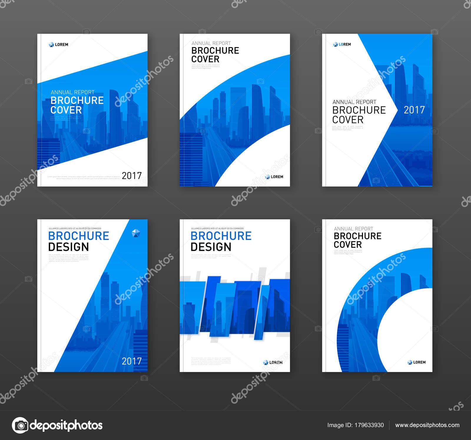 Diseño de la cubierta de folleto para negocios y construcción ...