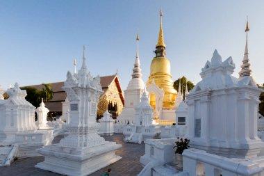 Wat Suandok white buddhist temple