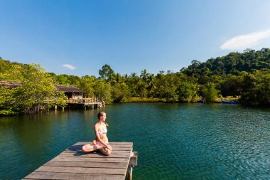 Tropical Yoga on Koh Kood Thailand