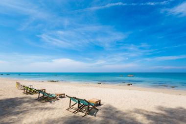Landscape of Koh Lanta Klong Nin beach