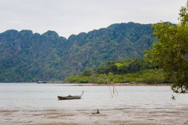 Landscape of Koh Lanta Noi