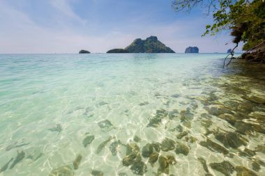 Tropical landscape of Koh Poda