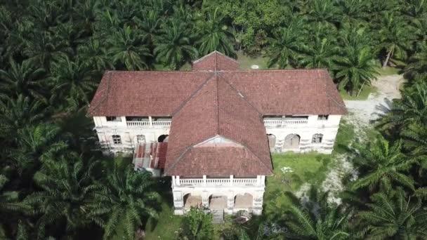 Colonial building 99 doors mansion abandoned at Penang, Malaysia.