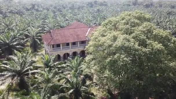 Aerial colonial building 99 door mansion architecture