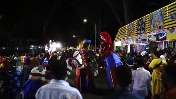 Georgetown, Penang / Malajsie - 07. 2. 2020: Indický maskot na ulici.