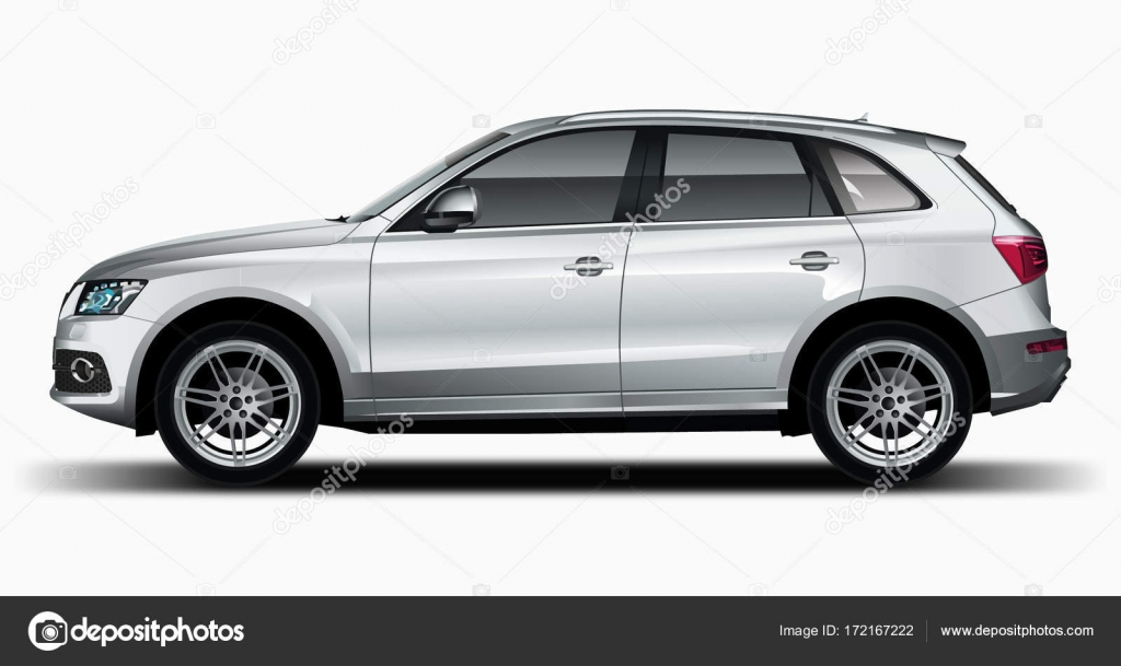 Audi Q Side View Stock Vector AlexKlik - Audi car vector