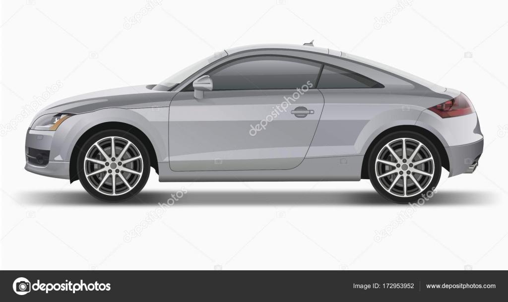 Audi TT Side View Stock Vector AlexKlik - Audi car vector